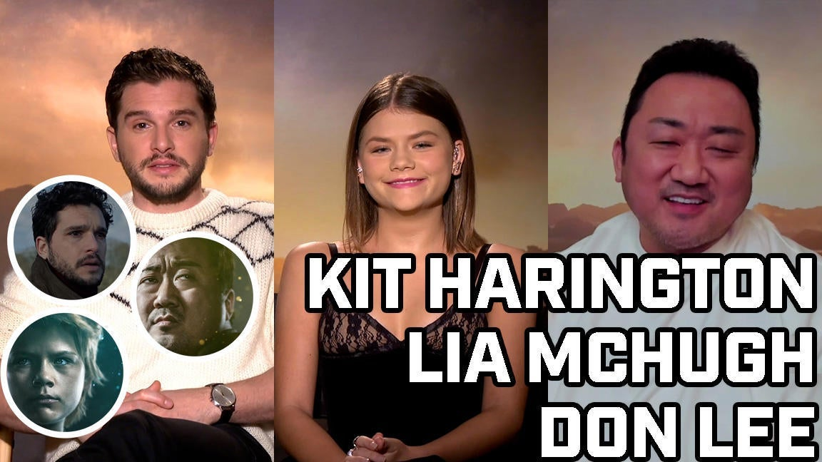 Kit Harington, Lia McHugh, and Don Lee Talk Eternals - Comicbook.com Exclusive Interview