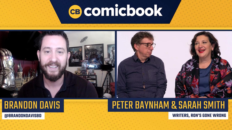 Peter Baynham and Sarah Smith Talk Ron's Gone Wrong