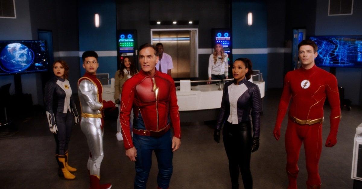 The Flash Season 7 Gag Reel - Finding Marks