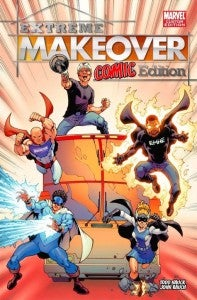 Extreme Makeover Home Edition Comic Book