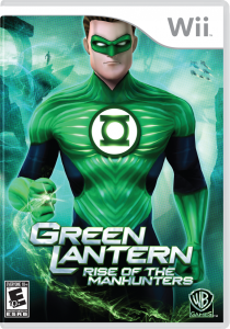 Green Lantern Rise of the Manhunters Video Game