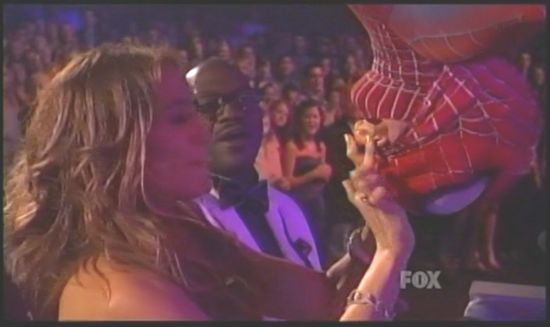 Jennifer Lopez and Spider-Man