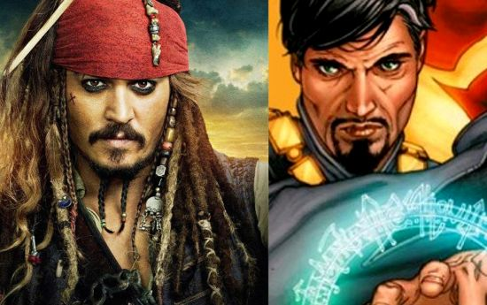 Johnny Depp as Dr. Strange