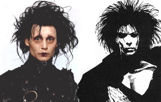 Johnny Depp as The Sandman