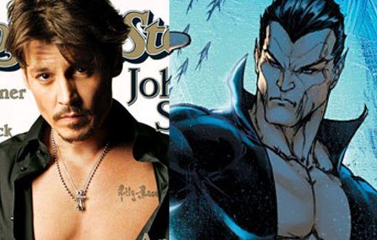 Johnny Depp as The Sub-Mariner