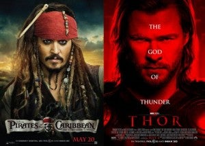 Pirates Vs. Thor