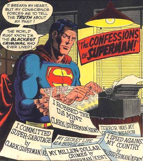 Superman Spying