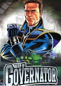 The Governator Comic Book