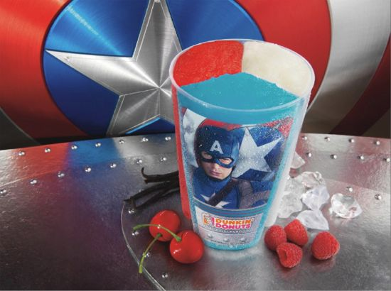 Captain America Movie Baskin-Robbins