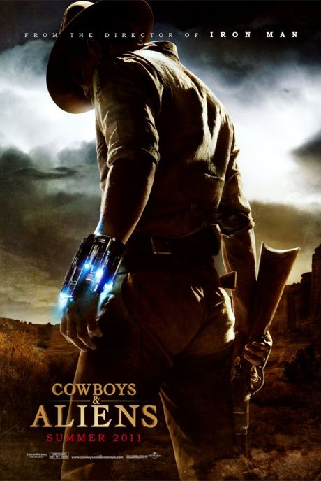 Cowboys & Aliens movie poster