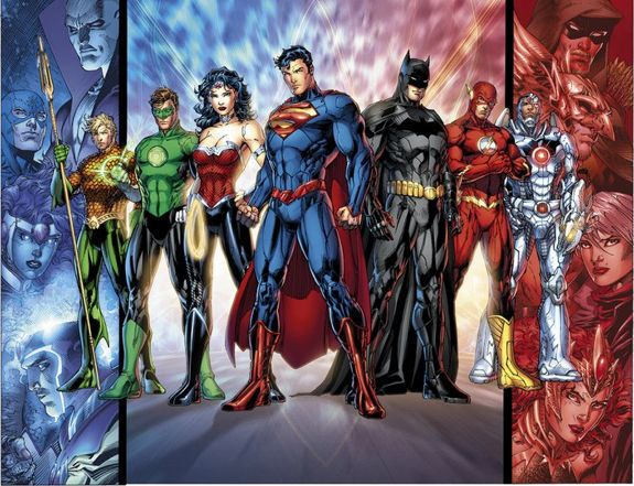 New Justice League Full Team