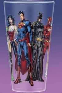 New Justice League Toon Tumblers