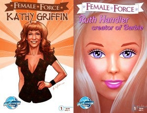 Kathy Griffin And Barbie Creator Comic Books