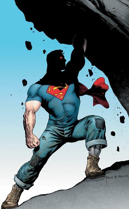 Lumberjack Superman