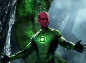 Sinestro In Green Lantern movie