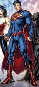 Superman's new look