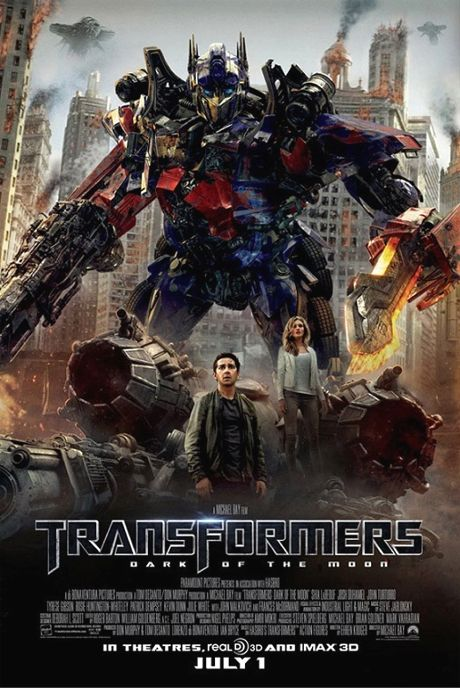 Transformers 3 Movie Poster