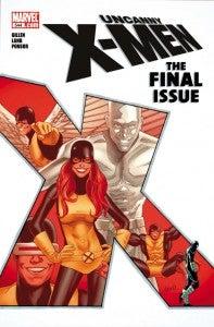 Uncanny X-Men Final Issue