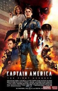 Captain America movie poster Howling Commandos