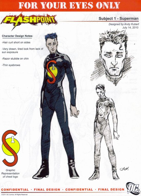 Flashpoint Superman Costume