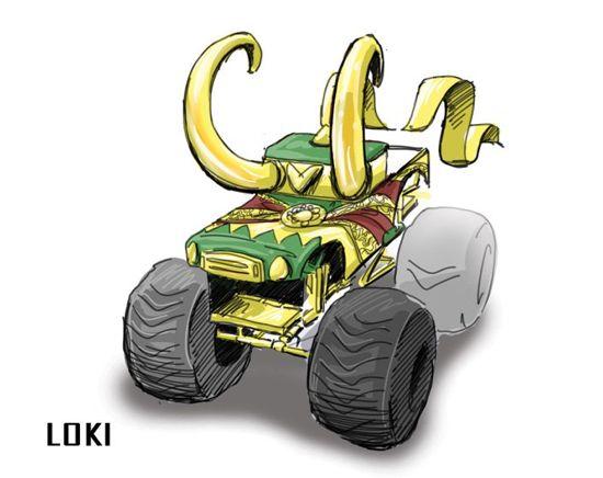 Loki Monster Truck