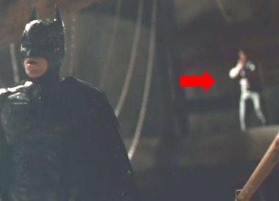Mystery Person Dark Knight Rises