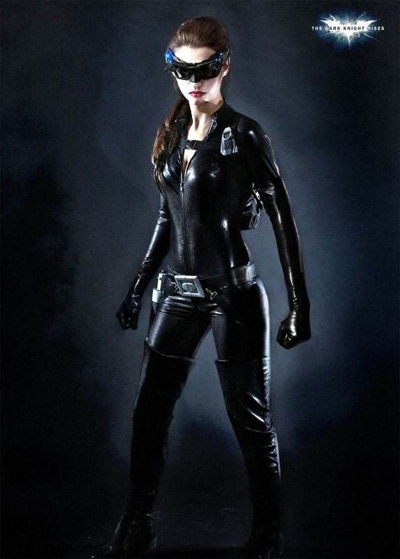 Fake Anne Hathaway As Catwoman Photo