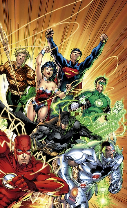 Justice League #1 Combo Cover