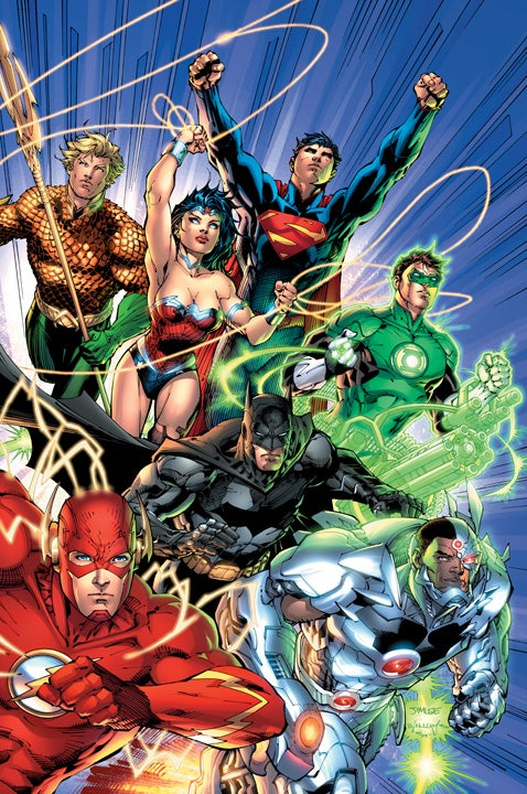 Justice League #1 Standard Cover