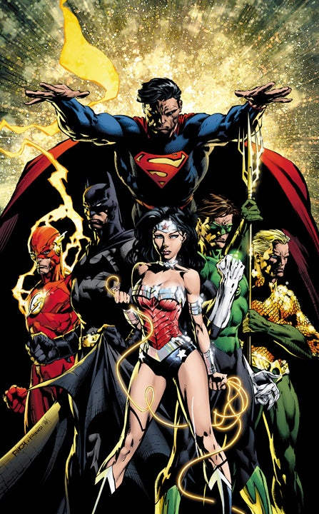 Justice League #1 Variant Cover Color