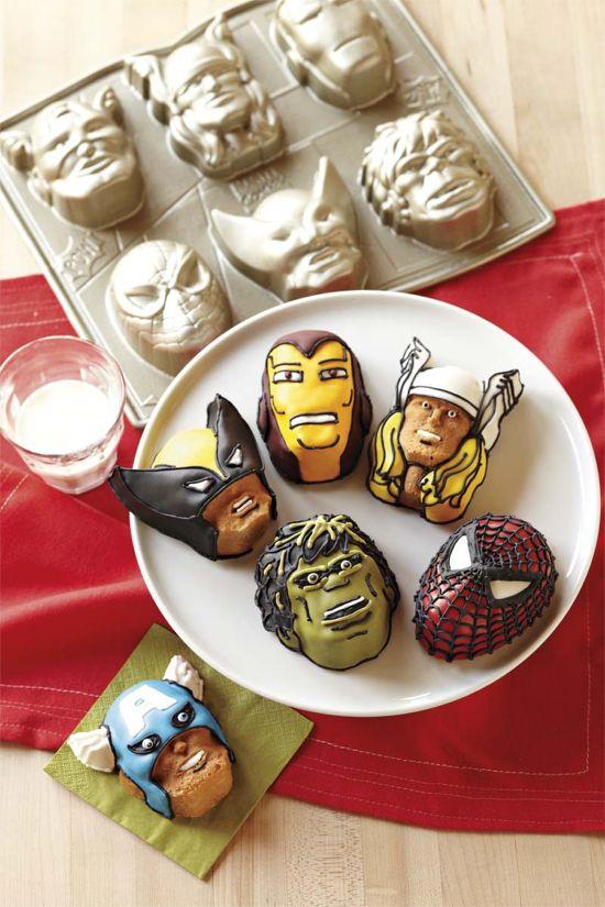 Marvel Comics Cookies