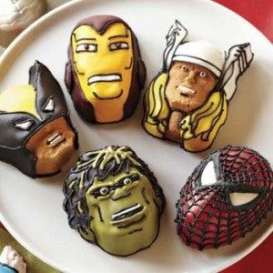 Marvel Iced Cookies