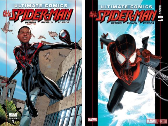 Ultimate Spider-Man #1 Covers