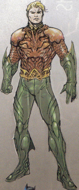 Aquaman new costume