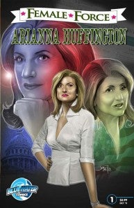 Arianna Huffington Comic Book