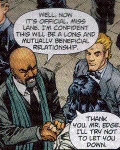black Morgan Edge