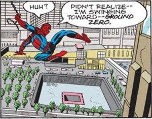 Spider-Man Cartoon 9/11