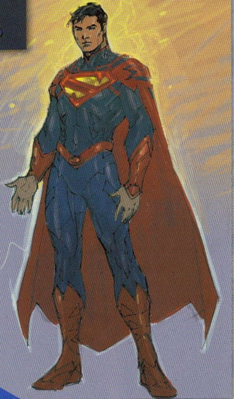 Superman Costume That Almost Was