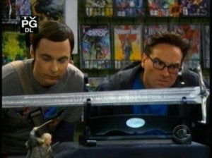 Big Bang Theory New 52 In Background