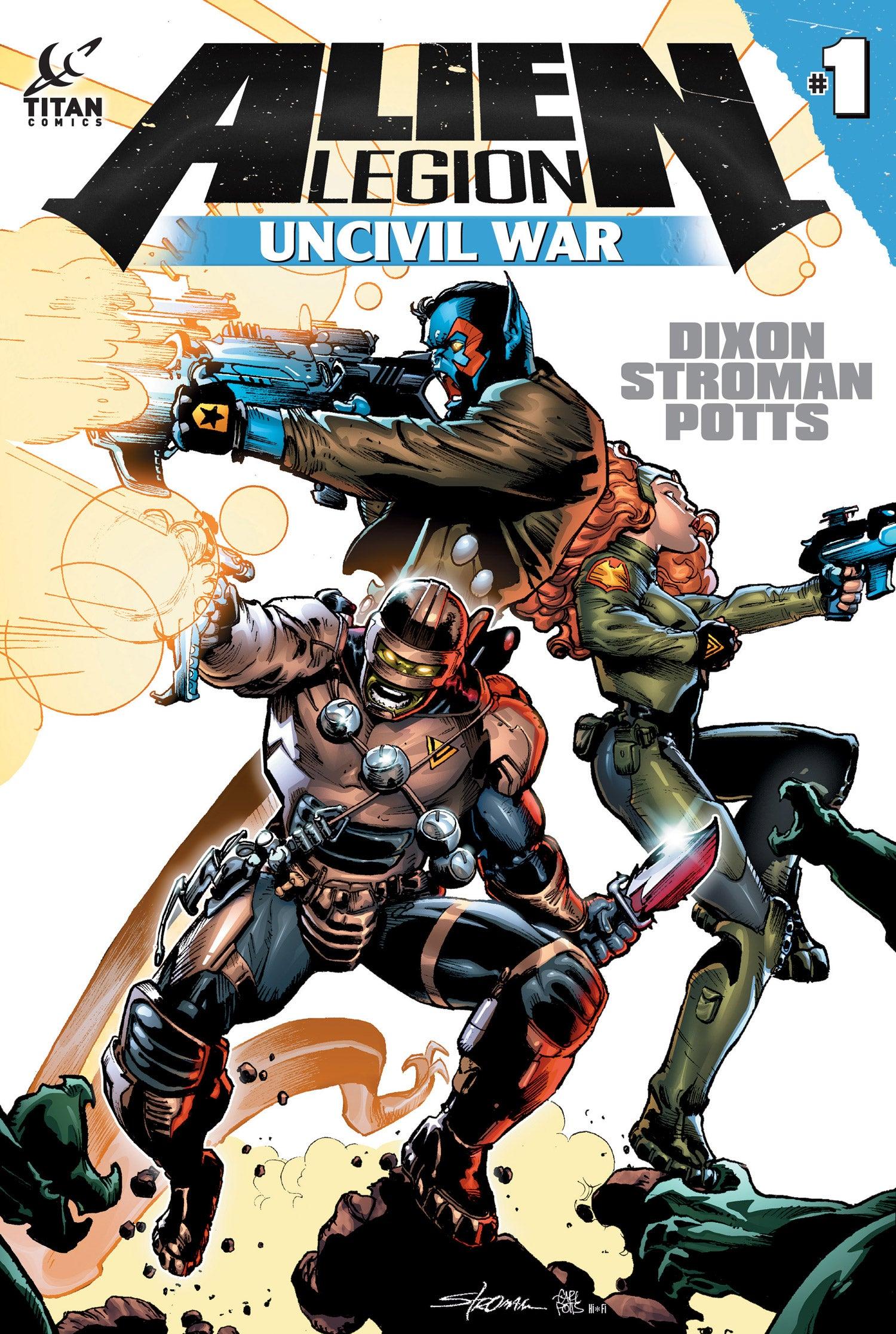 Alien Legion Uncivil War 01web