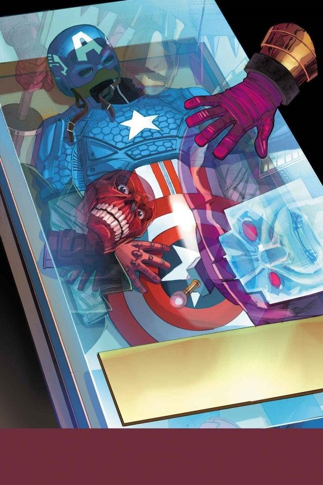 Captain America 22 Cover