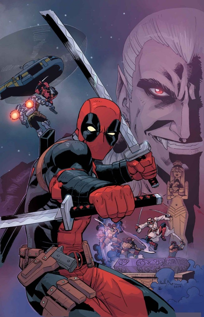 Deadpool Draculas Gauntlet 1 Cover