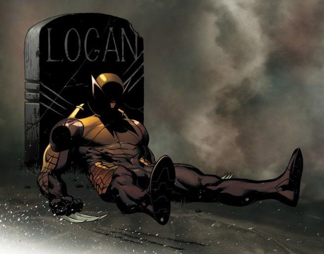 Death of Wolverine 1 McGuinness Mortal Variant