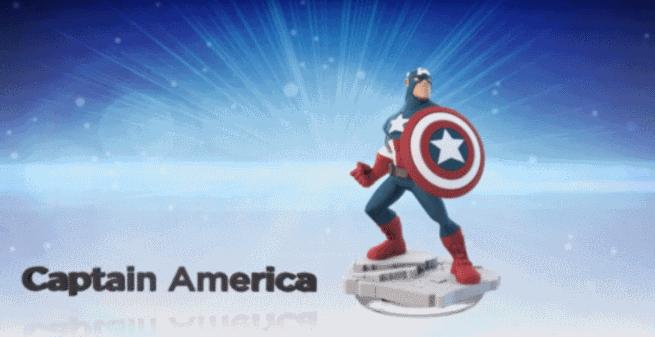 Captain America in Disney Infinity Marvel Super Heroes