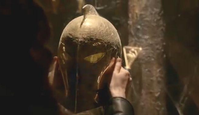 Dr. Fate's Helmet on Constantine