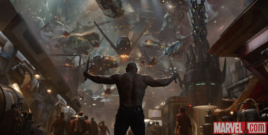 Guardians of the Galaxy's Dave Bautista Cried When He Found Out He Would Play Drax