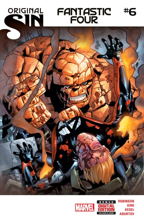 Fantastic Four 6 Cover