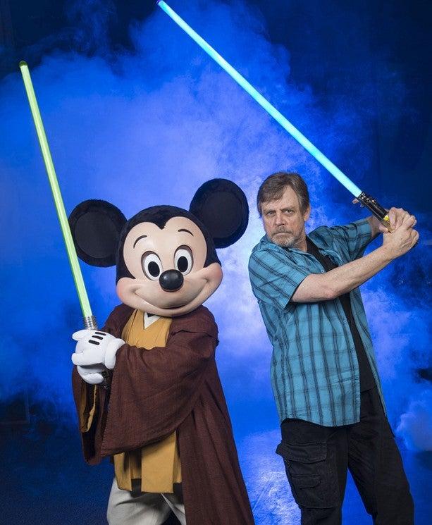 Mark Hamill at Disney Hollywood Studios for Star Wars Weekend