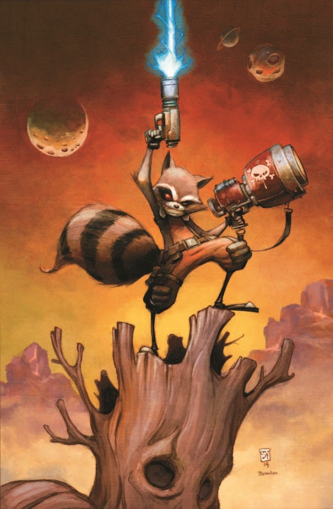 Rocket Raccoon 1 Cover