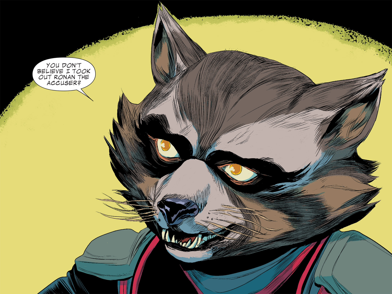 Exclusive Guardians of the Galaxy Comic Review: Rocket
